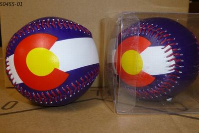 Colorado Flag Souvenir Baseball