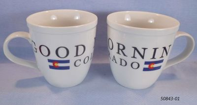 Jumbo Mug Souvenir Good Morning Colorado design